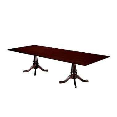 DMI Office Furniture Governors 120'' Rectangular Conference Table, Executive Mahogany (7350-98)