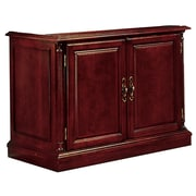 "DMI Office Furniture Keswick 799014 36"" Solid Wood/Veneer Executive Two Door Cabinet, English Cherry"