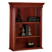 DMI Office Furniture Keswick 7990401 2-Shelf Open Overhead Storage, English Cherry
