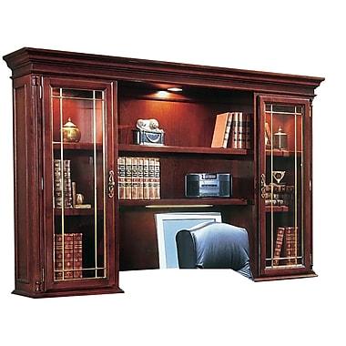 DMI Office Furniture Keswick 799064 2-Cabinet Executive Overhead Storage, Glass Doors