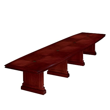 DMI Office Furniture Keswick 192'' Boat Conference Table, Cherry (7990-192EX)