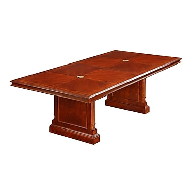 DMI Office Furniture Keswick 96'' Rectangular Conference Table, Cherry (7990-96REX)