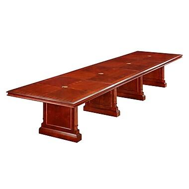 DMI Office Furniture Keswick 192'' Rectangular Conference Table, Cherry (7990-192REX)