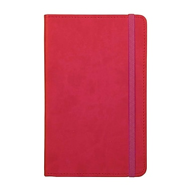 Markings Vinyl Hard Cover Journal, Pink