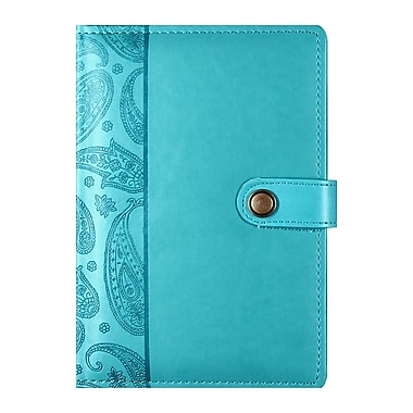 Markings Leatherette Ruled Journal, Turquoise