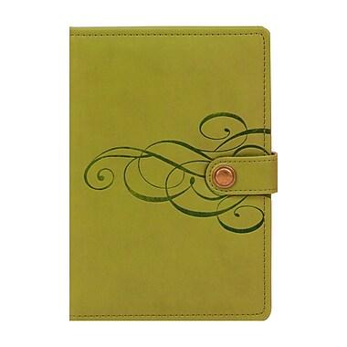 Markings Leatherette Ruled Journal, Green