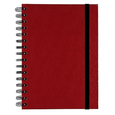 Markings Twin Wire Journal, Red