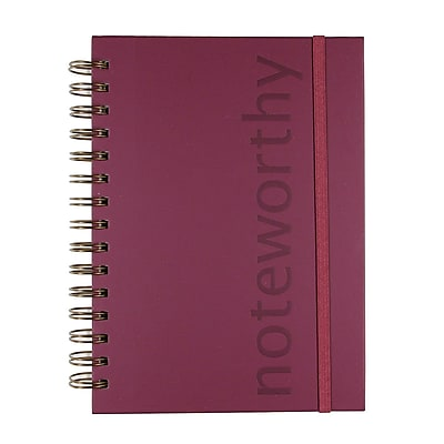 Markings Twin Wire Journal, Burgundy