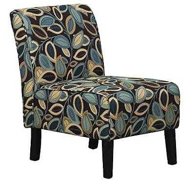 Hodedah Upholstered Slipper Chair