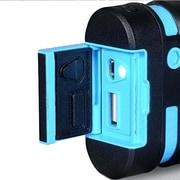 i-Blason PowerSport External Powerbank For Smartphone and Tablets, Blue/Black
