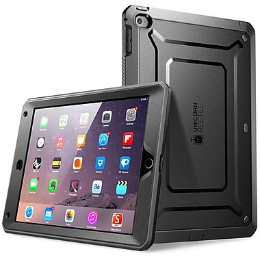 SUPCase Unicorn Beetle Protective Case For iPad Air 2, Black/Black