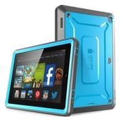 "SUPCase Unicorn Beetle Pro Full-Body Protective Case For 6"" Amazon Kindle Fire HD, Blue/Black"