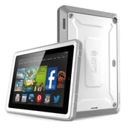 "SUPCase Unicorn Beetle Pro Full-Body Protective Case For 7"" Amazon Kindle Fire HD, White/Gray"