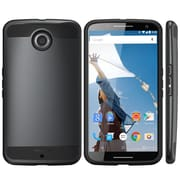 i-Blason Unity Dual Layer Ultra Slim Armored Hybrid Case For Google Nexus 6, White