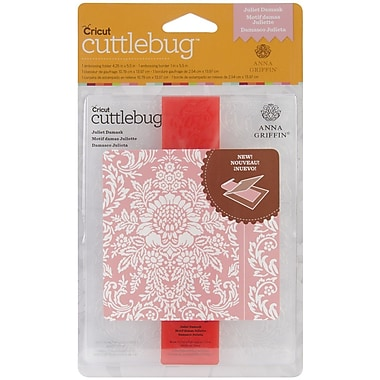 Cuttlebug A2 Embossing Folder & Border, Juliet Damask
