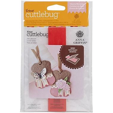 Cuttlebug A2 Embossing Folder & Border, Cherry Blossom