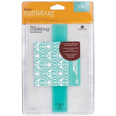 Cuttlebug Embossing Folder & Border, Haunted Damask
