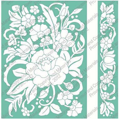Cuttlebug Embossing Folder & Border, Floral Bouquet
