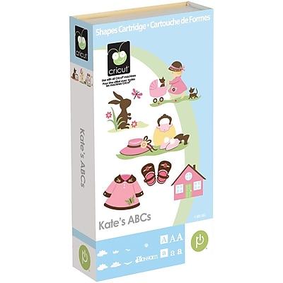 Cricut ABC's Shaped and Font Cartridge, Kate's