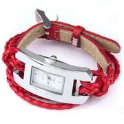 Best Desu – Montre-bracelet en cuir fabriquée à la main