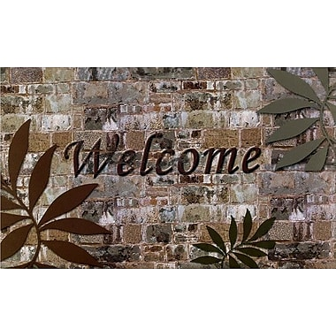 Achim Importing Co Welcome Palms Doormat