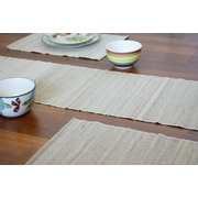 Leaf & Fiber Vaayil Handmade Banana Fiber Table Runner Placemat