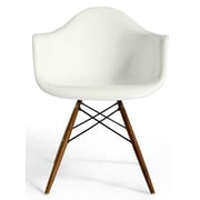 Aeon Furniture Marcella Arm Chair; White Gloss