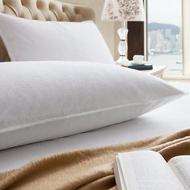 Inovatex,LLC Terry Pillow Protector (Set of 2); Standard