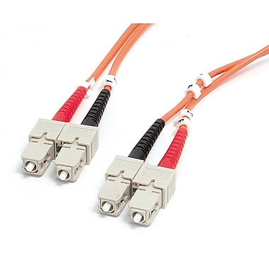 StarTech.com Multimode 50/125 Duplex Fiber Patch Cable SC, SC, 1m