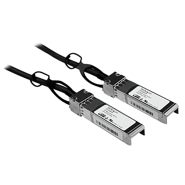 StarTech.com – Câble SFP+ 10 à raccordement direct Twinax passif Ethernet Gigabit (10 GbE), compatible Cisco, 1 m