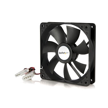 StarTech.com – Double roulement à billes pour ventilateur d'ordinateur avec connecteur LP4, 120 x 25 mm