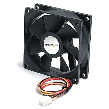 StarTech.com – Roulement à billes pour ventilateur de boîtier silencieux avec connecteur TX3, 92 x 25 mm