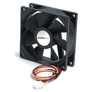 StarTech® Ball Bearing Quiet Computer Case Fan w/ TX3 Connector, 92 x 25mm