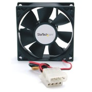 StarTech.com Dual Ball Bearing Computer Case Fan w/ LP4 Connector, 80 x 25mm