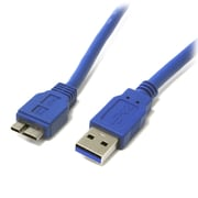 StarTech® SuperSpeed USB 3.0 Cable A to Micro B, 1 Ft.