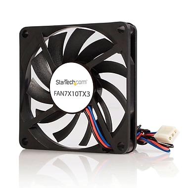 StarTech.com – Ventilateur de refroidissement de processeur à double roulement à billes, TX3 , rechange, 70 mm