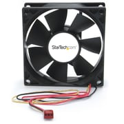StarTech.com Dual Ball Bearing Computer Case Fan w/ TX3 Connector, 80 x 25mm