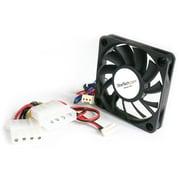 StarTech® Replacement Ball Bearing Computer Case Fan TX3/LP4 Connector, 50 x 10mm