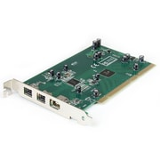 StarTech.com 2b 1a PCI 1394b FireWire Adapter Card with DV Editing Kit, 3 Port