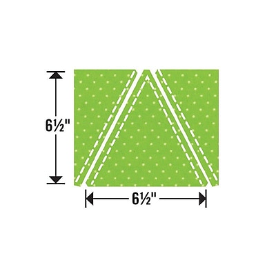 Sizzix Triangles Die 6.5