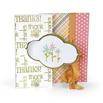 Sizzix Decorative Flips Movers & Shapers Die 6