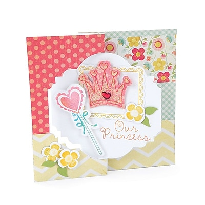 Sizzix Movers & Shapers L Die - Card, Majestic Flip-its 6