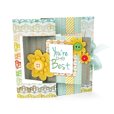 Sizzix Movers & Shapers Rectangle L Die Card