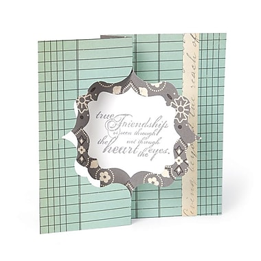 Sizzix Movers & Shapers L Die Fancy Frame Card 6