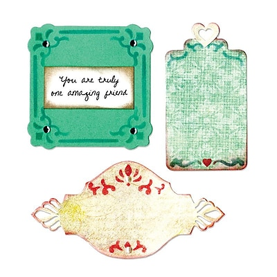 Sizzix Thinlits Ornate Labels Dies 3.5