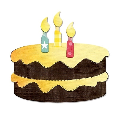 Sizzix Birthday Cake & Candles Bigz Die 5.5
