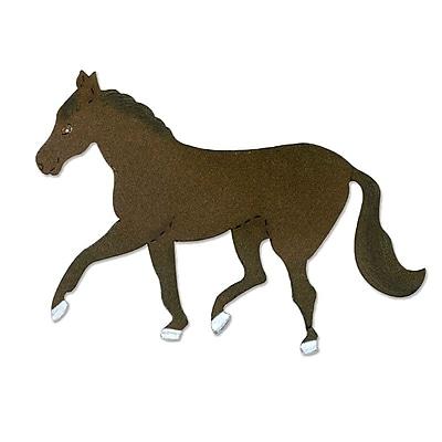 Sizzix Horse Die Brown & White 5.5