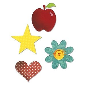 Sizzix Bigz Die Apple Multi-Colored 5.5