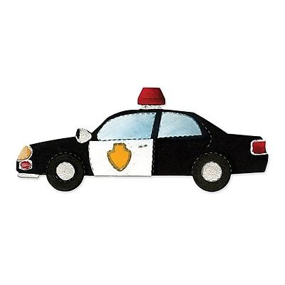 Sizzix Police Car Die 5.5