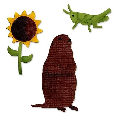 Sizzix Prairie Dog & Sunflower 5.5